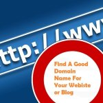 How To Find A Domain Name Guide