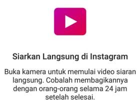 Instagram Live Stories