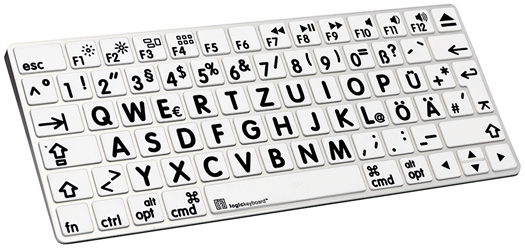 Logickeyboard Large Print Apple Magic Wireless keyboard cover