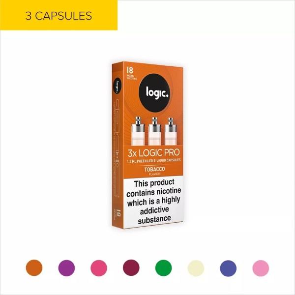 Vape Refill Capsules Logic Pro Vapes Official Store