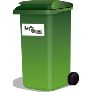 LogicWaste ® 240 liter rolcontainer