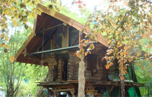 Henry Fosbrooke - Logtagon Tree House