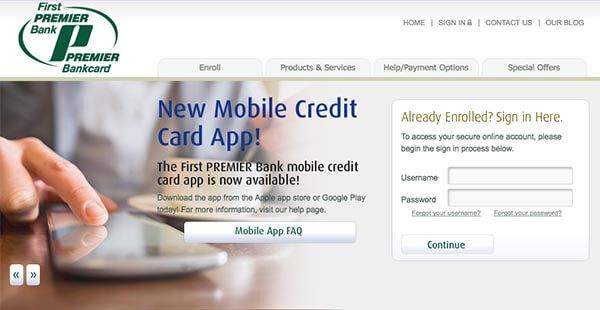 Firestone credit card
