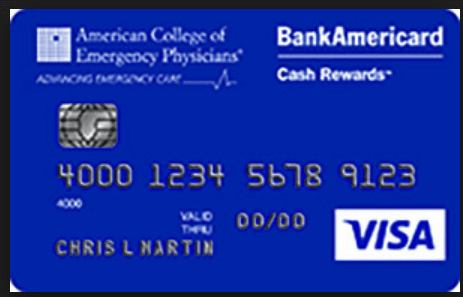 ACEP BankAmericard Cash Rewards Visa
