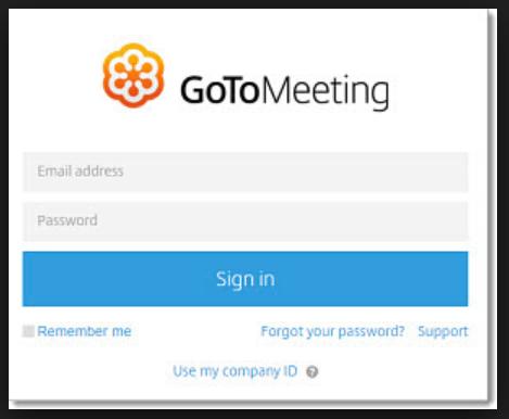 GoToMeeting Login