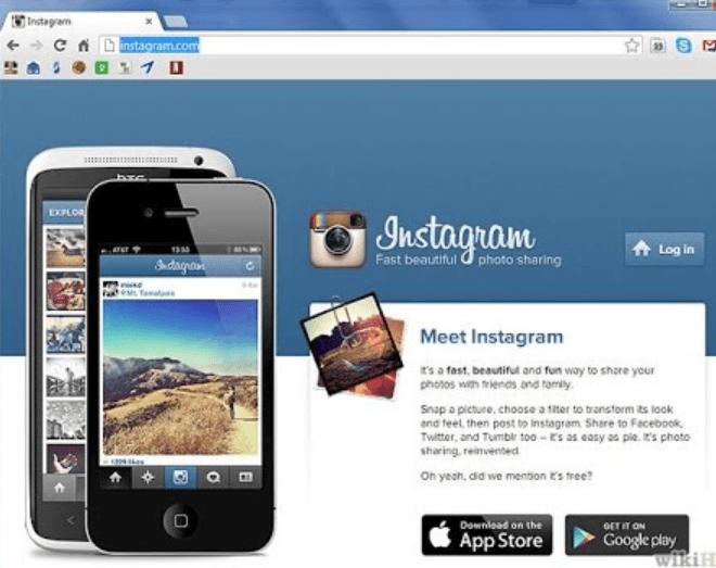 Instagram Online Login