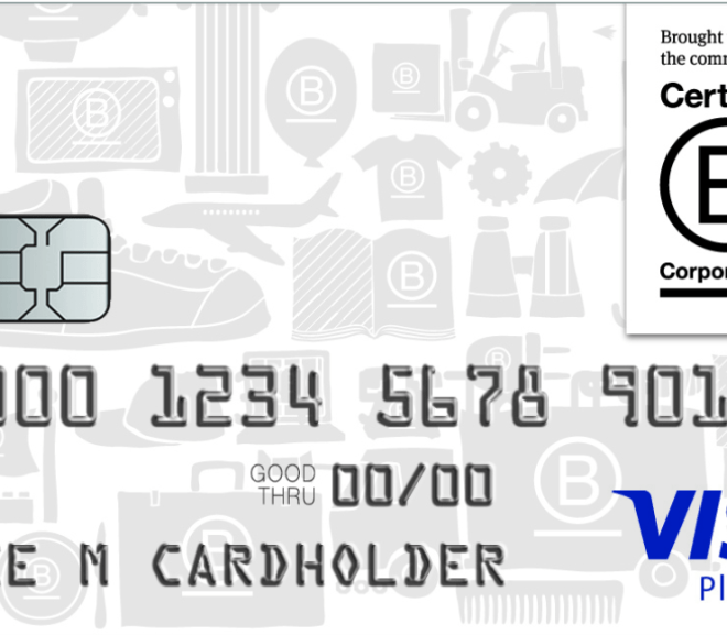 B CORP AFFINITY CREDIT CARD