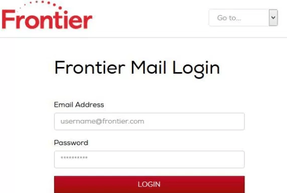 Frontier Webmail