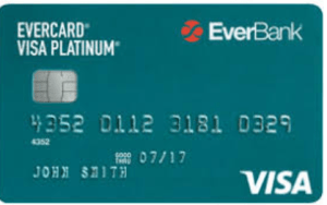 EverCard Platinum Visa credit card