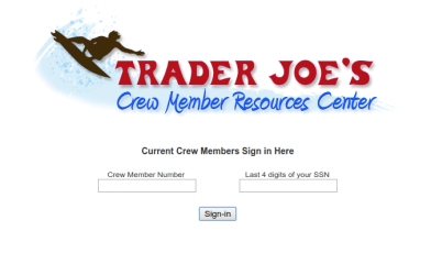 Trader Joe s Crew Logo