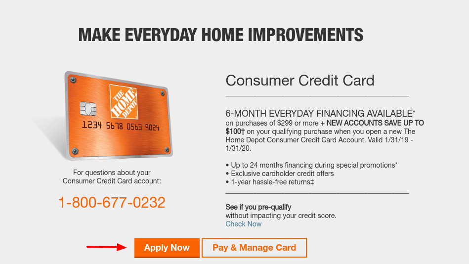 Want more credit card news and advice from tpg? www.myhomedepotaccount.com - Home Depot Consumer Credit Card Apply - Login Helps