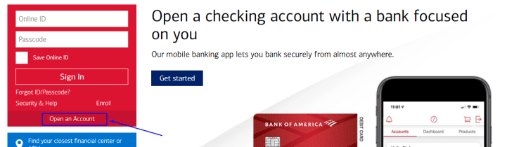 How to Open your Bank of America Account