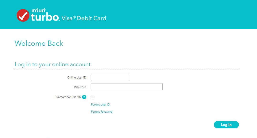 Turbo Debit Card Login