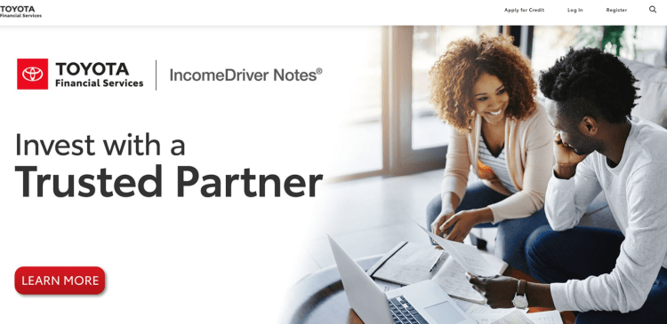 toyota financial services login