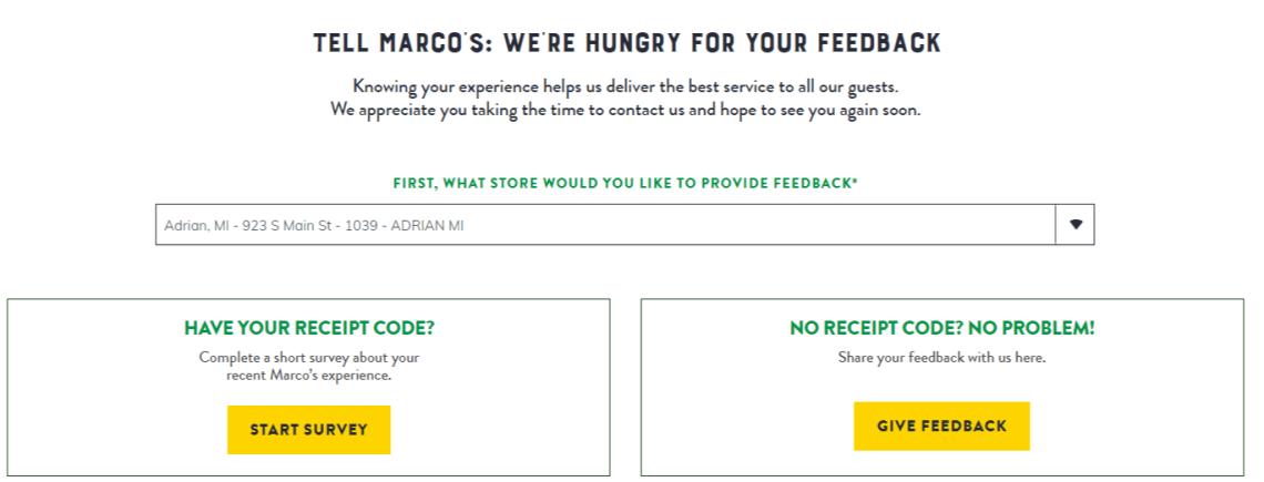 tellmarco's Survey