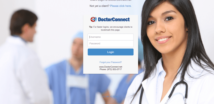 Doctor Connect Account