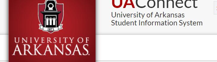 UAConnect University of Arkansas Logo