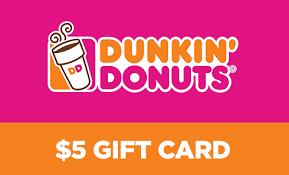 Dunkin' Donuts Gift Card Balance