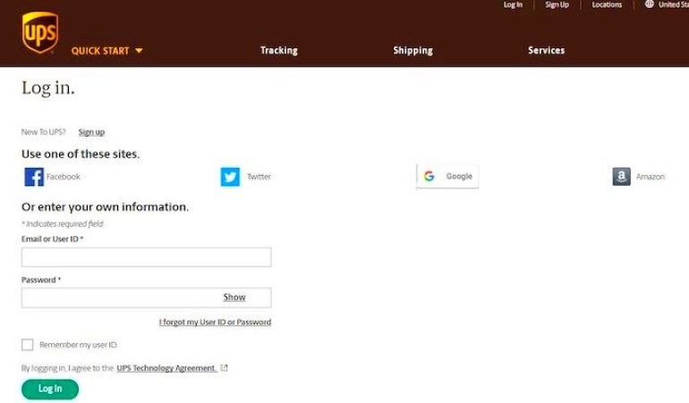 UPSers login: Access UPS Employee Portal Online At www.upsers.com