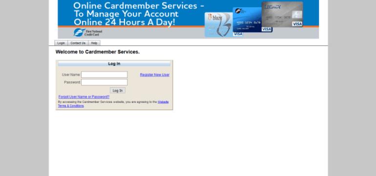 FirstNationalcc Login: Online Credit Card Bill Payment At www.firstnationalcc.com