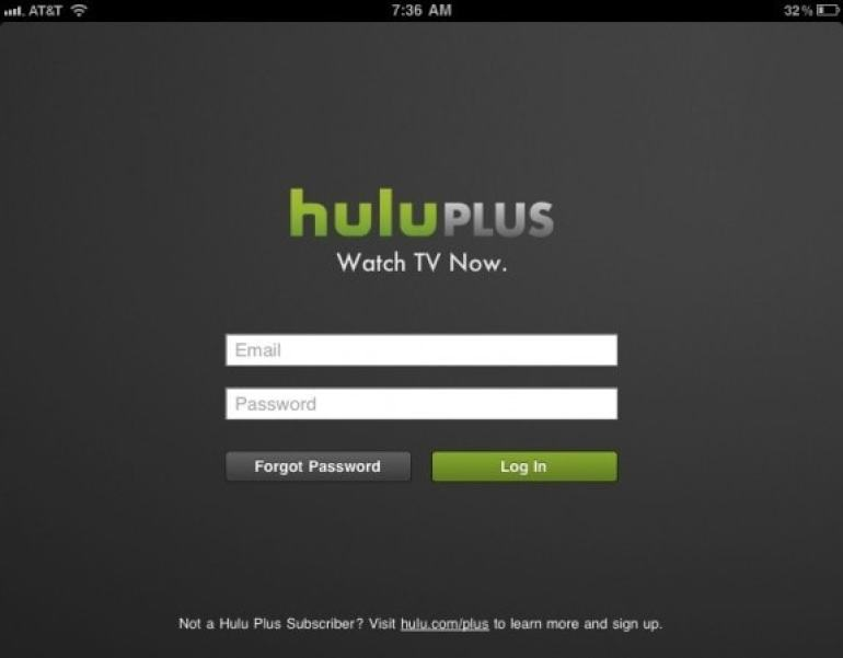Hulu Plus Login