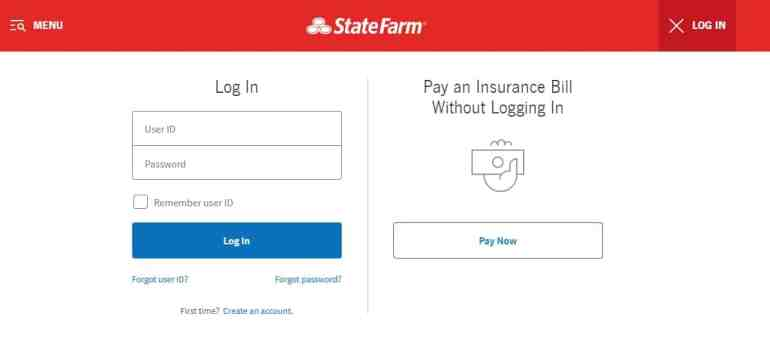 State Farm Login Manage Your Account Bill At Www Statefarm Com