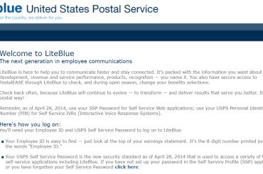LiteBlue USPS Logo | logintips.net
