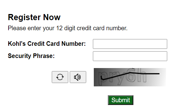 kohls Credit Card Account | logintips.net