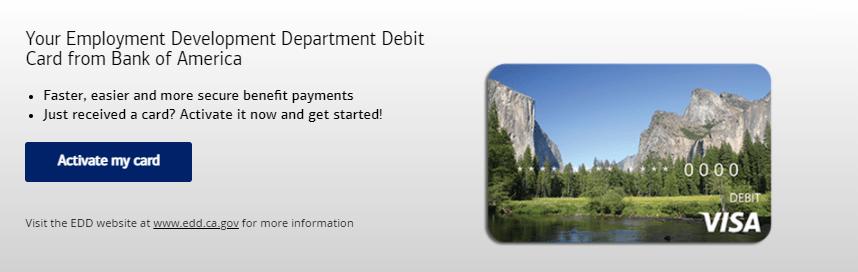 www.bankofamerica.com/eddcard - Bank of America EDD Debit Card
