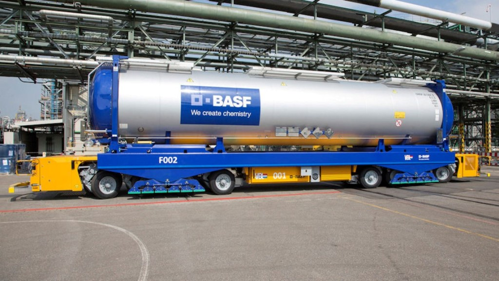 BASF best supply chain
