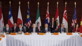 November 2014 Meeting of Trans-Pacific Partnership Countries (Source: Associated Press)