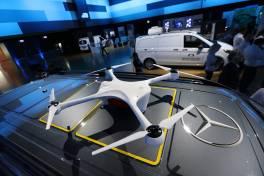 daimler drones
