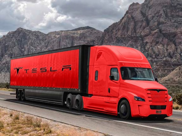 The Tesla Truck Costs Twice As Much As Diesel Logistics Viewpoints