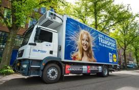 'Stadsdistributie met schone trucks is duurzamer dan met bestelauto's'