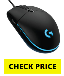 logitech g203 lightysymc rgb gaming mouse review, specs and features