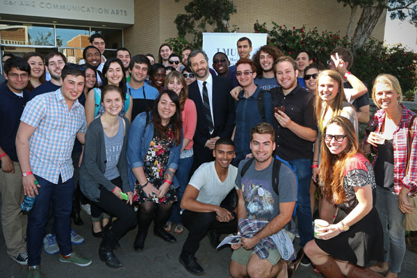 Judd Apatow With Students - Judd Apatow: Hollywood Master