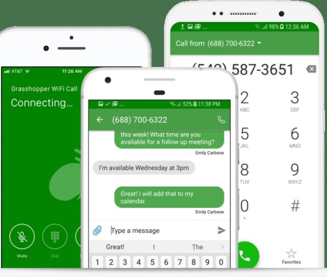 Grasshopper Toll Free Number App Png
