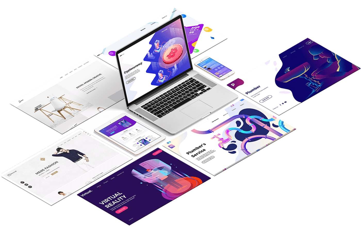 Webdesign website image