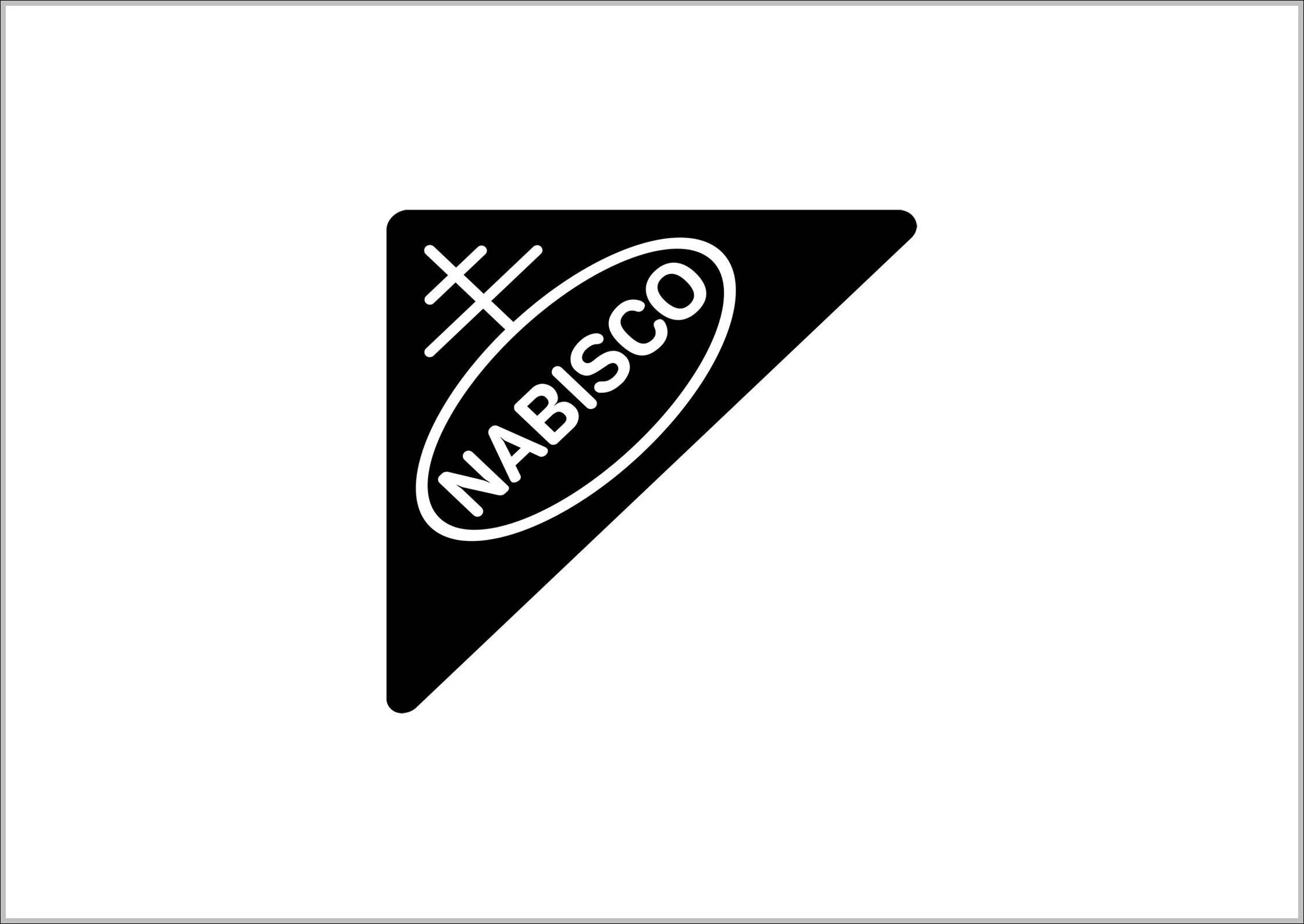 Nabisco Logo Sign