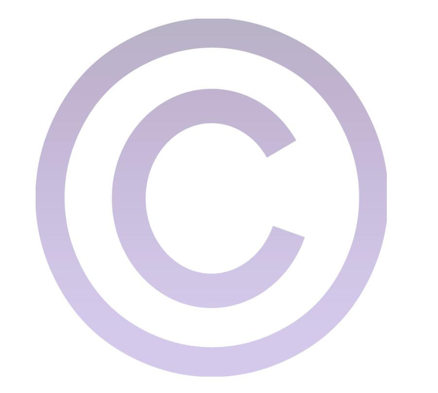 copyright symbol logo sign