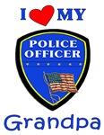 I Love My Police Grandpa