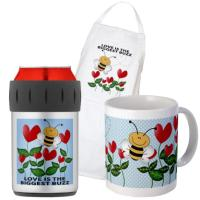 Thermos, Mugs and Aprons