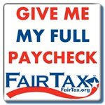 FairTax Slogan Buttons