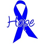 Hope Blue Ribbon Colon Cancer Apparel & Gifts