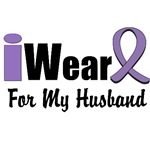 I Wear Violet Ribbon For My Husband Shirts