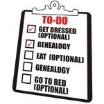 Genealogy To-Do List