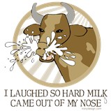 Laughing Cow Meme Humor Humor T-Shirts Magnets, Stickers, and more!