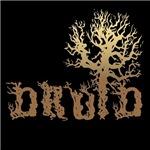 Druid Tree Shirt on Black