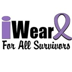 I Wear Violet For All Survivors