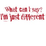 what can i see i am just different